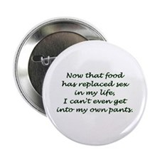 """Food and Sex from rude_rags_ 2.25"""" Button (10 pack"""