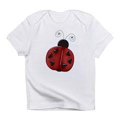 Cute Red Ladybug Infant T-Shirt
