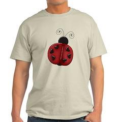 Cute Red Ladybug T-Shirt