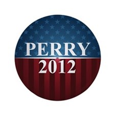 "Perry 2012 3.5"" Button"