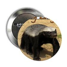 "Honey Badger 2.25"" Button (100 pack)"