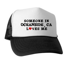 Someone in Oceanside Trucker Hat