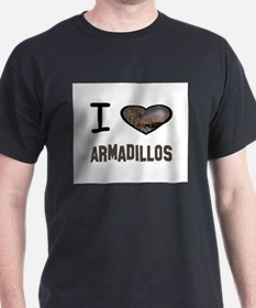 Cute I heart armadillos T-Shirt
