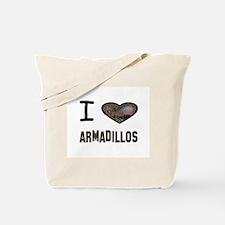 Cute Armadillo Tote Bag