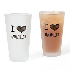 Unique Armadillos Drinking Glass