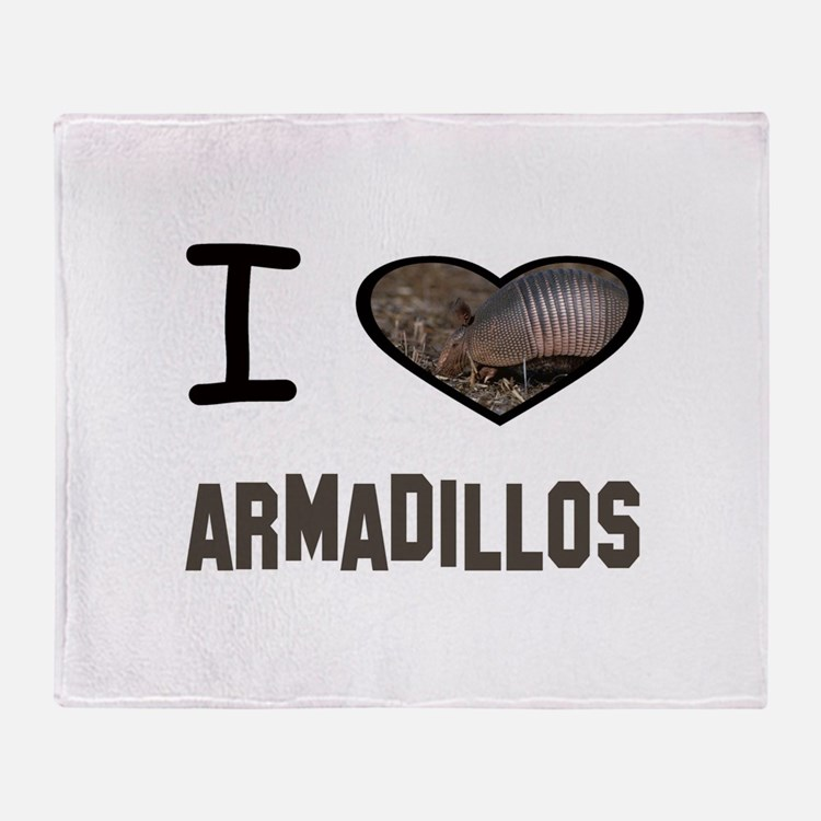 Cute Armadillo Throw Blanket