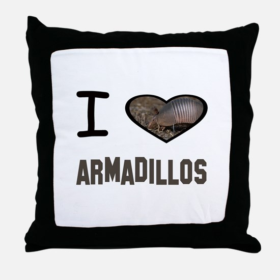 Unique Armadillo Throw Pillow