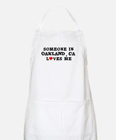 Someone in Oakland BBQ Apron