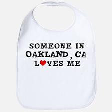 Someone in Oakland Bib