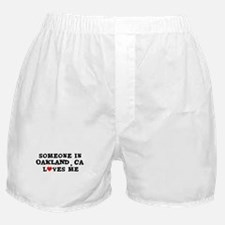 Someone in Oakland Boxer Shorts