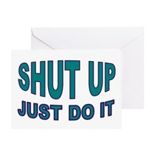 GO DO IT Greeting Card