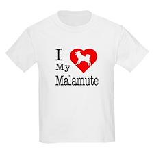I Love My Malamute T-Shirt