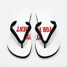 Perry for President Flip Flops