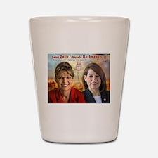 Palin Bachmann Shot Glass