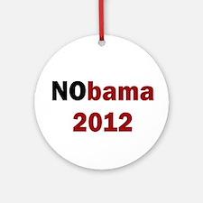NObama 2012 Ornament (Round)