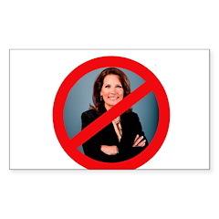 No Bachmann Sticker (Rectangle)