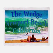 The Wedge Throw Blanket