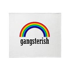 Gangsterish Throw Blanket