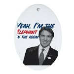 Rick Perry 2012 Ornament (Oval)