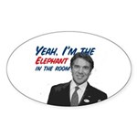Rick Perry 2012 Sticker (Oval 10 pk)