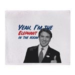 Rick Perry 2012 Throw Blanket