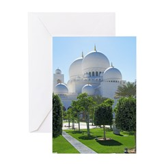 Sheikh Zayed Grand Mosque Dom Greeting Card