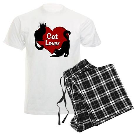 cat lover Men's Light Pajamas