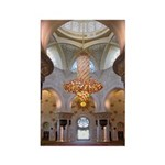 Sheikh Zayed Grand Mosque Men Rectangle Magnet (10