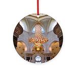 Sheikh Zayed Grand Mosque Men Ornament (Round)