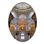 Sheikh Zayed Grand Mosque Men Ornament (Oval)