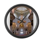 Sheikh Zayed Grand Mosque Men Large Wall Clock