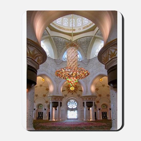 Sheikh Zayed Grand Mosque Men Mousepad