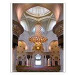 Sheikh Zayed Grand Mosque Men Small Poster