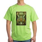 Sheikh Zayed Grand Mosque Men Green T-Shirt