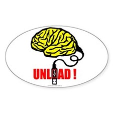 BRAIN TO UNLOAD Decal