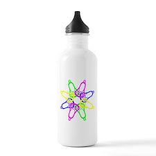 Lacrosse Neon Heads Sports Water Bottle
