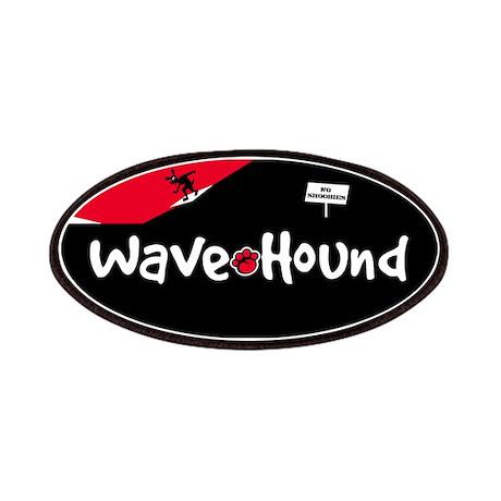 Wave Hound Surf Shop Logo Patches