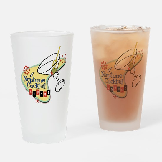 Neptune Cocktail Drinking Glass