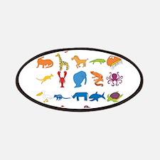 Animal Alphabet Patches