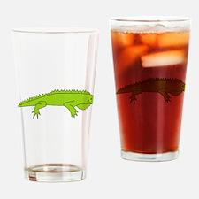 Iguana Drinking Glass