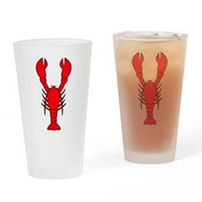 Lobster Drinking Glass