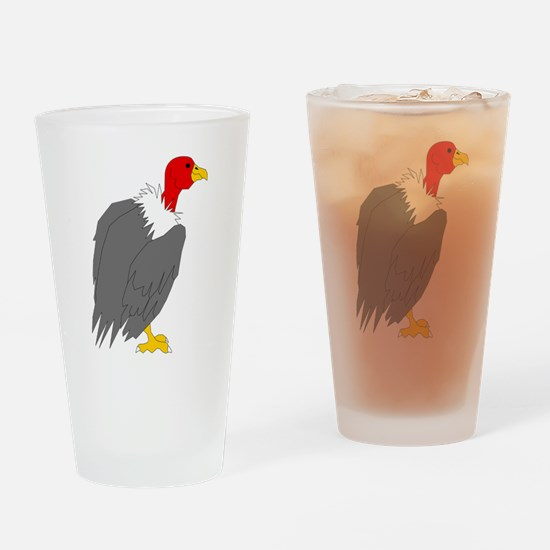Vulture Drinking Glass