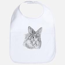 Fluffy Bunny Bib
