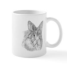 Fluffy Bunny Small Mug