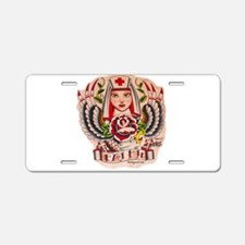 Nurse Faith Aluminum License Plate