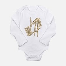 L.A to the Bone Los Angeles Long Sleeve Infant Bod