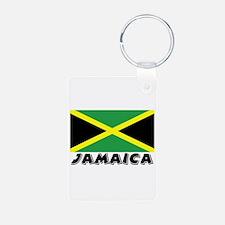 Jamaica Flag (World) Keychains