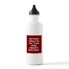 Gustav Mahler Water Bottle