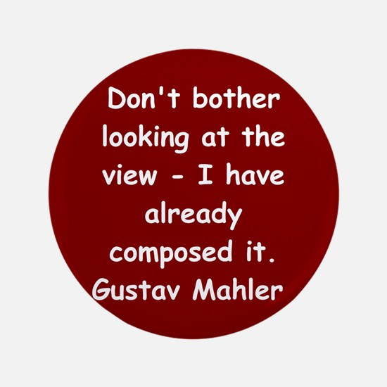 "Gustav Mahler 3.5"" Button"