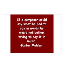 Gustav Mahler Postcards (Package of 8)